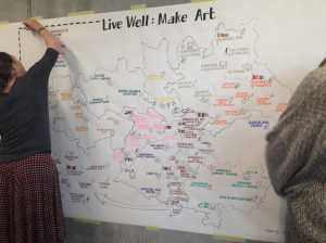 Mapping arts and health activity in Greater Manchester